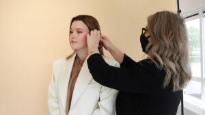 Lees meer over het artikel Backstage bij de Hairvolution SS21 shoot