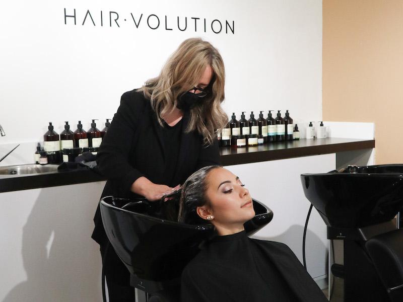 hairvolution kapper almere buiten duurzaam